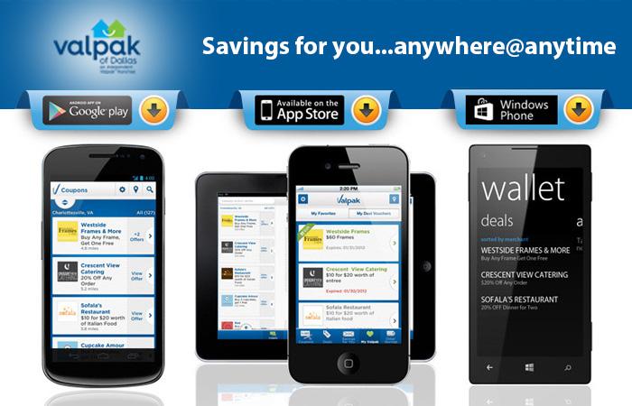 Valpak Mobile App